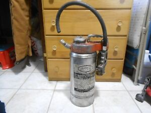 Vintage Buffalo Better Built Dry Chemical Fire Extinguisher Stainless Steel