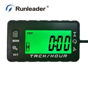 Self Powered Digital Maintenance Tach Hour Meter Motorcycle For Mower Outboards