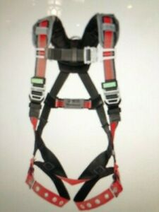 Msa Evotech Back D Ring Harness Chest Qwik fit And Leg Tongue Buckles 10105931