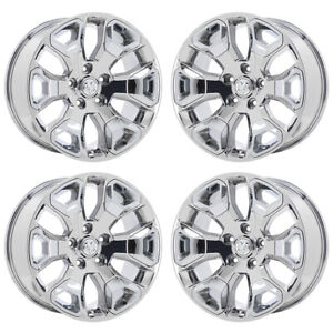 20 Dodge Ram 1500 Limited Truck Pvd Chrome Wheels Rim Factory Oem 2560 Exchange