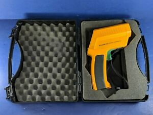 Fluke 572 Infrared Thermometer Good Condition Hard Case