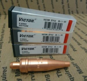 11 units Of Victor G Series Cutting Tip Size 00 Acetylene oxygen
