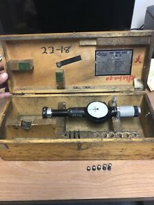 Standard Gage Co 3 Dial Bore Gage 1 5 2 16 Range