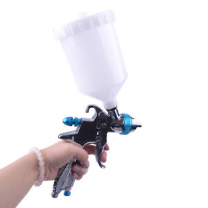 Mini Hvlp Air Paint Spray Gun Auto Car Detail Touch Up Sprayer Gravity Repair