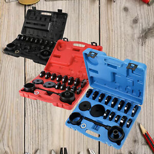 23 Front Wheel Bearing Press Tool Removal Adapter Puller Kit Red Blue Black