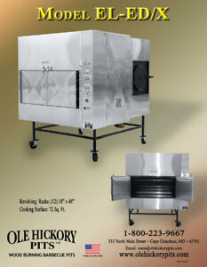 Ole Hickory Pits Bbq Smoker Concession Trailer El ed x Brand New Custom