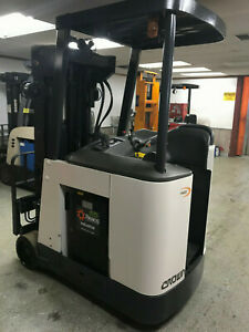 Crown Counter Balanced Standup Electric Forklift