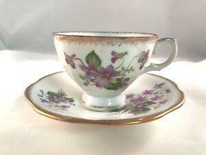 Rosina Bone China Tea Cup And Saucer