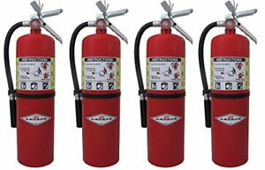 10lb Abc Dry Chemical Class A b c Fire Extinguisher 4 Tagged