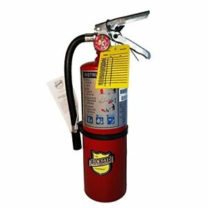 lot Of 1 5 Lb Type Abc Dry Fire Extinguisher W Vehicle Bracket