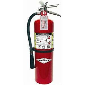 Amerex Fire Extinguisher 10lb 10 Abc New Certification Tag nice Refillable