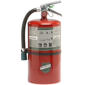 15 Lb Halotron Fire Extinguisher Tagged