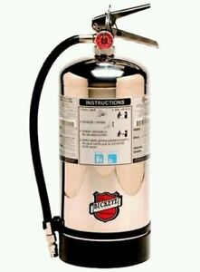 Buckeye K Class Fire Extinguisher 50006 Tagged Certify For Fire Inspections