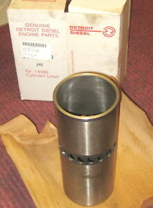 3 Each Genuine Detroit Diesel 23504933 71 Series Cylinder Liner New Unused