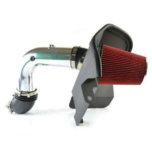 4 Diesel Heat Shield Cold Air Intake Red For 03 07 Dodge Ram 2500 3500 5 9l