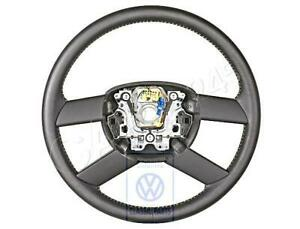 Genuine Vw Polo Derby Vento Ind Steering Wheel Leather 6q0419091mhuw