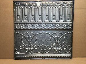 1pc 24 X 24 Piece Antique Ceiling Tin Vintage Reclaimed Salvage Art Craft
