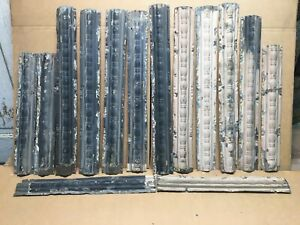 14pc Lot Of 24 18 By 3 Antique Ceiling Tin Vintage Reclaimed Salvage Art Craft