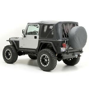 Smittybilt 9970235 In Stock Replacement Soft Top 97 06 Jeep Wrangler Tj