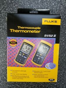 Fluke 52 2 Digital Thermometer