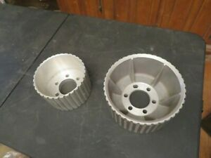 Vintage 1970 S Mike Kuhl Blower Supercharger Pulleys Nice