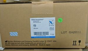 1 Case Of Bd Vacutainer 25g Safety lok Blood Collection Set Ref No 367285 4x50