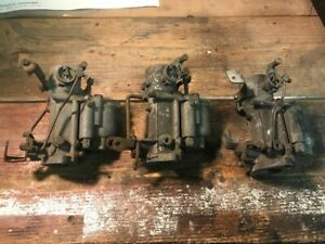 3 British Zenith Carburetors Ford Zephyr Hillman Nash Metropolitan