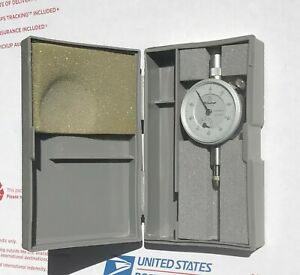 Mitutoyo Dial Indicator 0 01 5mm No 1044n Excellent