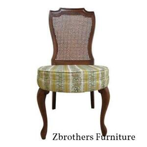 Vintage French Regency Baker Style Louis Xv Side Desk Chair