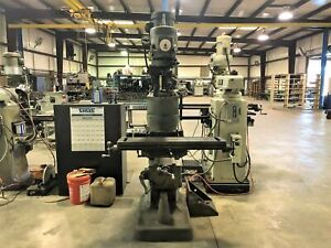 Bridgeport Series 1 Variable Speed Vertical Milling Machine