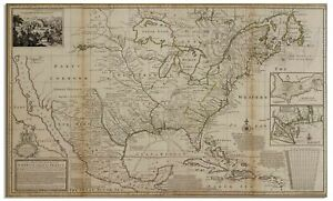 Herman Moll New Map Of The North Parts Of America