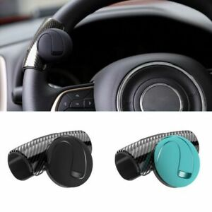 Car Steering Wheel Spinner Knob Auxiliary Booster Aid Control Handle Black Blue