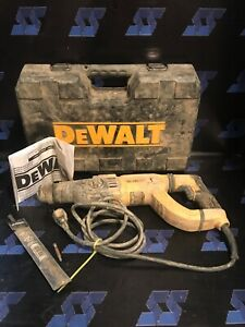 ma4 Dewalt D25263 3 Mode D handle Sds Rotary Hammer Drill With Case And Manual