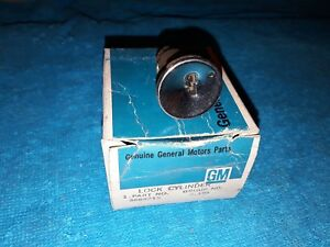 Nos Gm Ac Delco 65 Corvette Chevy Ignition Cylinder Uncoded 1965 Impala Bel Air