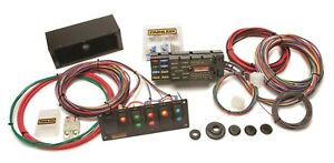 Painless Wiring 50005 10 Circuit Race Only Chassis Harness Switch Panel Kit