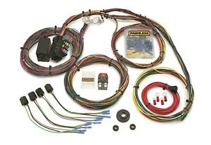 Painless Wiring 10127 21 Circuit Customizable Color Coded Chassis Harness