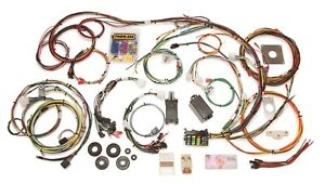 Painless Wiring 20120 22 Circuit Direct Fit Chassis Harness Fits 65 66 Mustang
