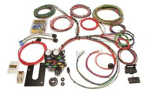 Painless Wiring 10101 21 Circuit Classic Customizable Chassis Harness