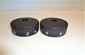 Leica Wild M8 Stereomicroscope Paired Zoom Control Knobs new Set g