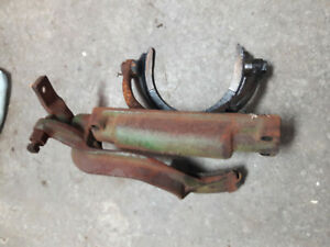 John Deere A Tractor Clutch Brake Stop Fork Pad Assembly