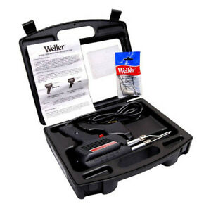 Weller D650pk Industrial Dual heat Gun Kit In Case 120v 200 300w