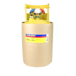 Yellow Jacket 95012 30 Lb Cylinder 400 Psi 1 4 Flare Float