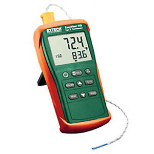 Extech Ea11a Easyview Type K Single Input Thermometer 58 To 1999 f