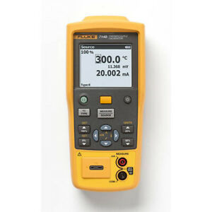 Fluke 714b Temperature Calibrator 17 Thermocouple Types millivolts