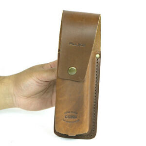 Fluke C520a Rugged Leather Carrying Case For Electrical Testers