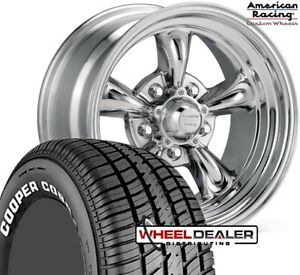 15 Staggered Torq Thrust Wheels 245 275 Rwl Tires Chevelle Malibu 1968 1972