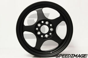 Rota Slipstream Wheels 15x8 40 5x114 Satin Black Rims Integra Type R Evo Dsm