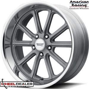 New 17 American Racing Vn507 Rodder Wheels Staggered Classic Gm 5x4 75 Cars