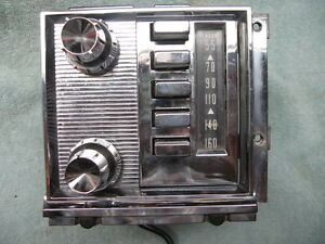 1959 Mercury Radio Model 94pm By Philco Serviced Price Reduced