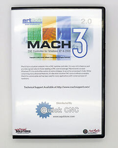 Fully Version Licensed Mach3 Cnc Software Control Cnc Machines Steppers